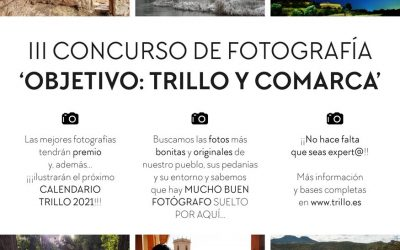 El Ayuntamiento de Trillo ha convocado su tercer concurso fotográfico Objetivo: Trillo y comarca.
